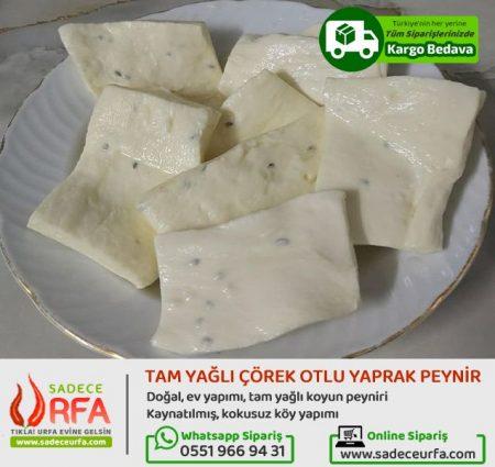 Çörek Otlu Yaprak Peyniri